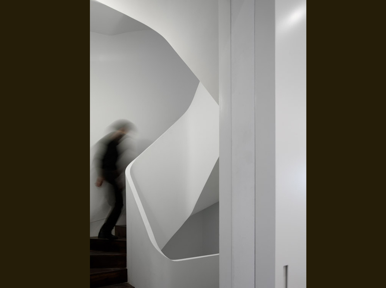 House on Faroe Road - staircase