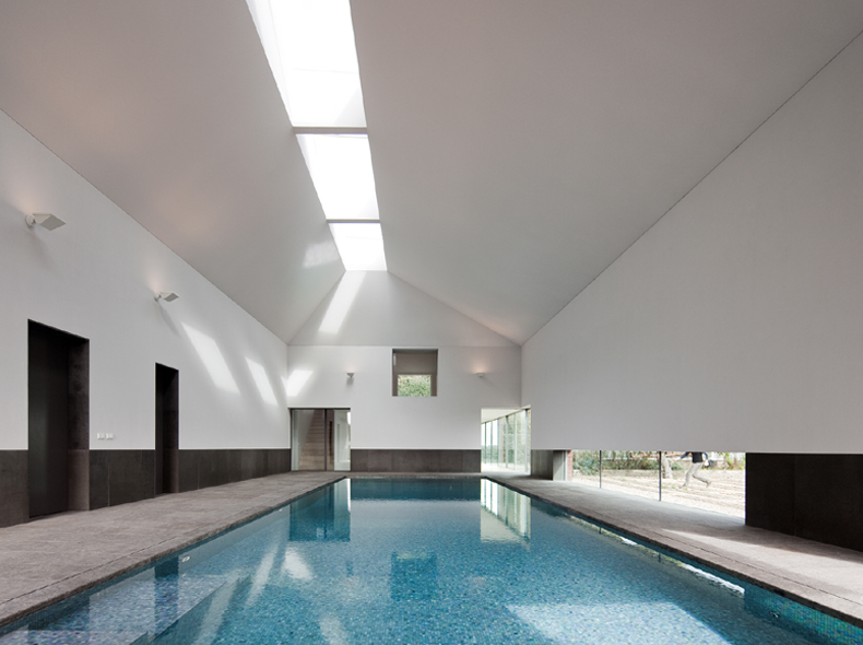 indoor pool - interior