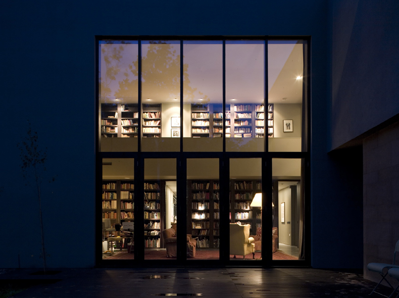 wilderness - library - nightime